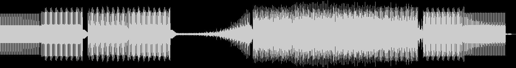 クロック、EFX。最小限の未再生の波形