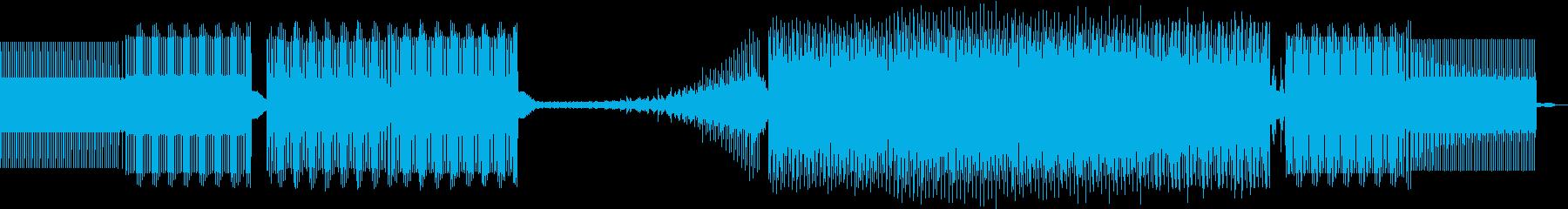 クロック、EFX。最小限の再生済みの波形
