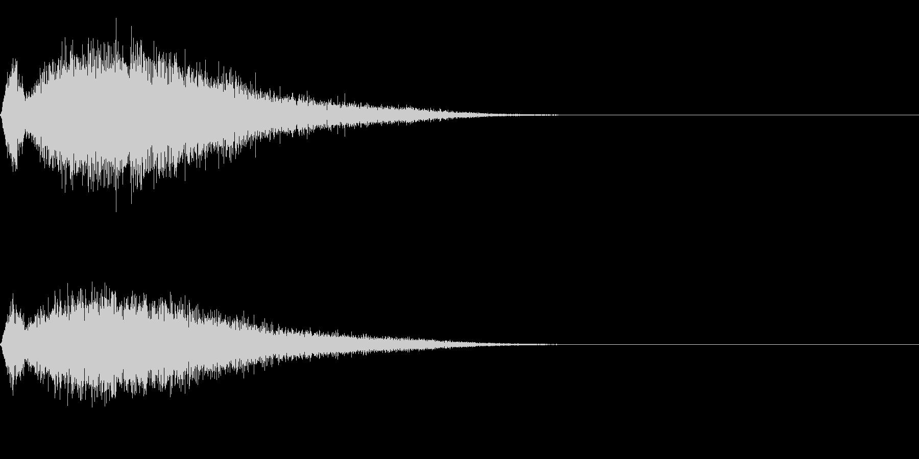 シュー(空気、蒸気、ガス)その2の未再生の波形