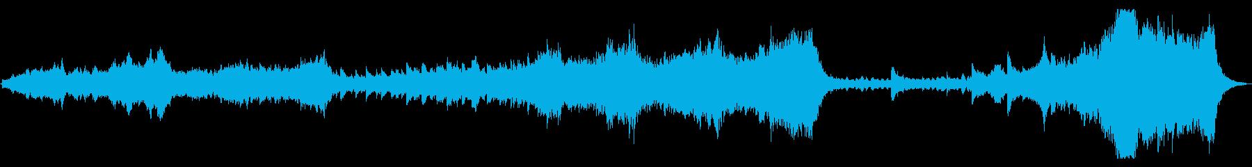 大自然壮大オケ 60秒 per syn無の再生済みの波形