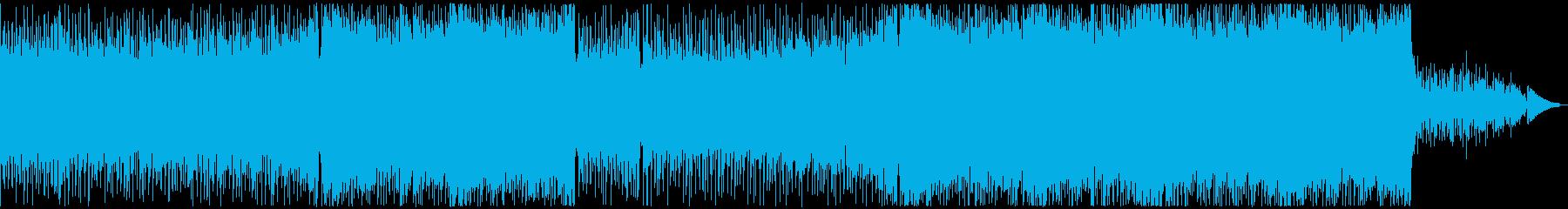明るく可愛く楽しい雰囲気のポップなEDMの再生済みの波形