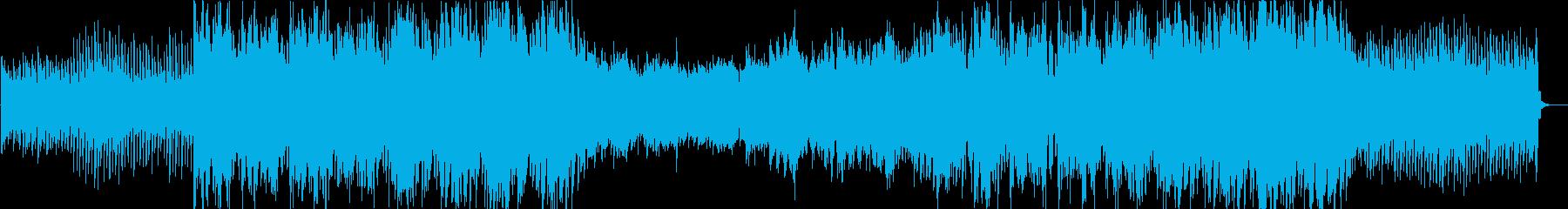 アンビエント系エレクトロニカの再生済みの波形
