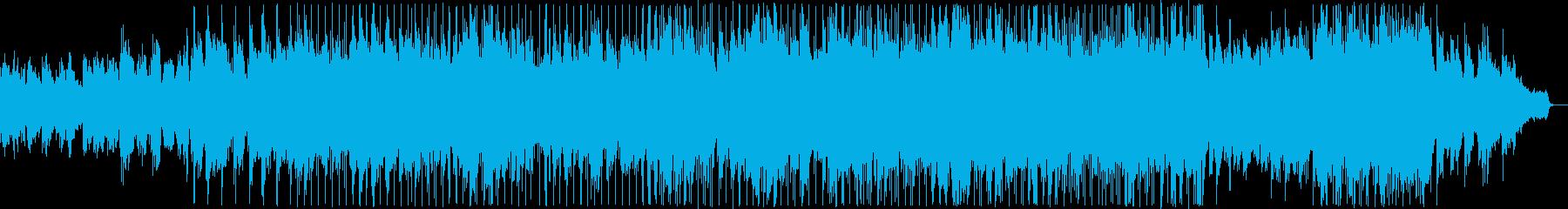 優しい雰囲気のバラード7の再生済みの波形