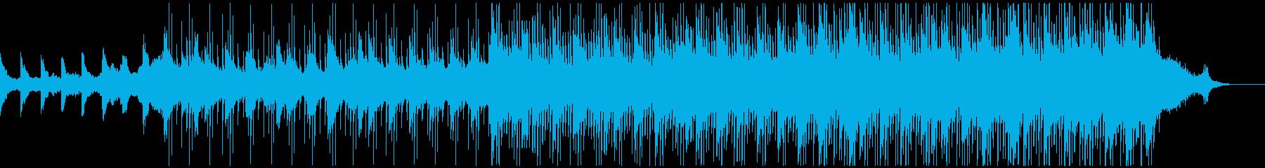 三味線が奏でる和風コーポレート、落ち着きの再生済みの波形