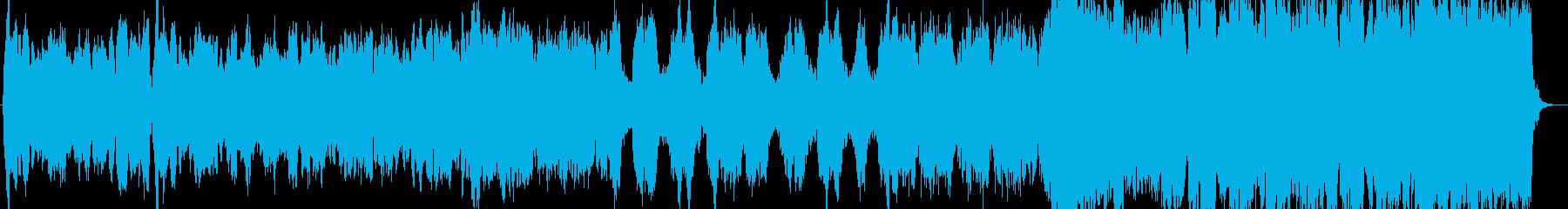 組曲『惑星』より、木星のメイン部分の抜粋の再生済みの波形