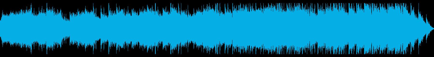 壮大なヒーリングアンビエントの再生済みの波形