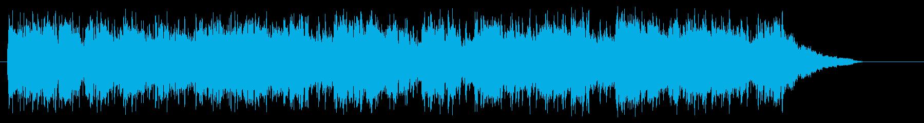 アコースティック・ギター(紀行向け)の再生済みの波形
