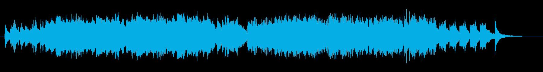 ピアノとストリングス、ピッコロのインス…の再生済みの波形