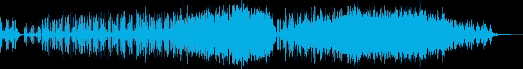 明るい日常を感じるBGMの再生済みの波形