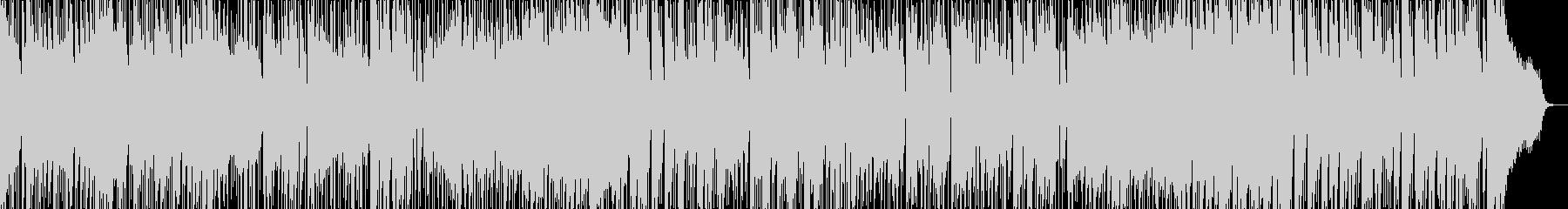 さわやかなPOPS曲の未再生の波形