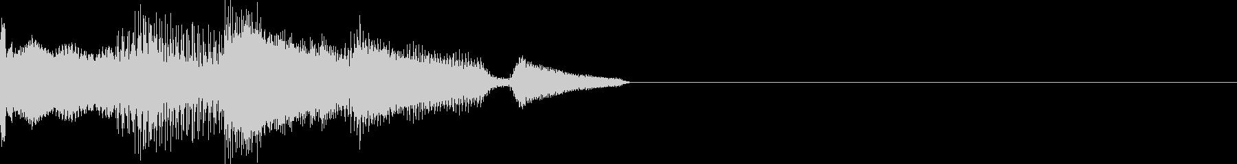 キロロン(マシン、選択、カーソル移動)の未再生の波形