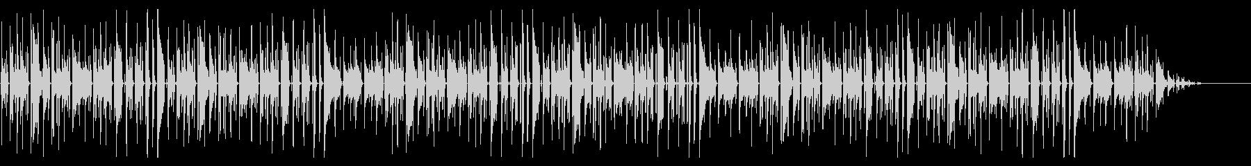 ヨドバシカメラで有名な曲 脱力系アレンジの未再生の波形