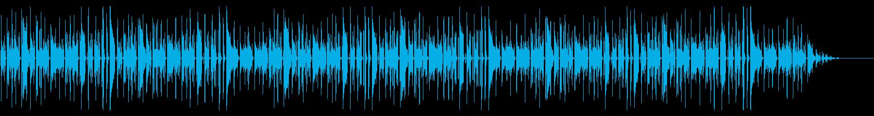 ヨドバシカメラで有名な曲 脱力系アレンジの再生済みの波形