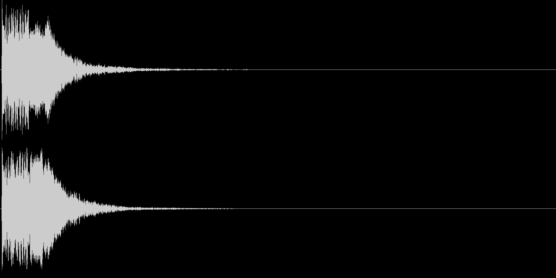ピュイン(パワーアップ・エネルギー補充)の未再生の波形