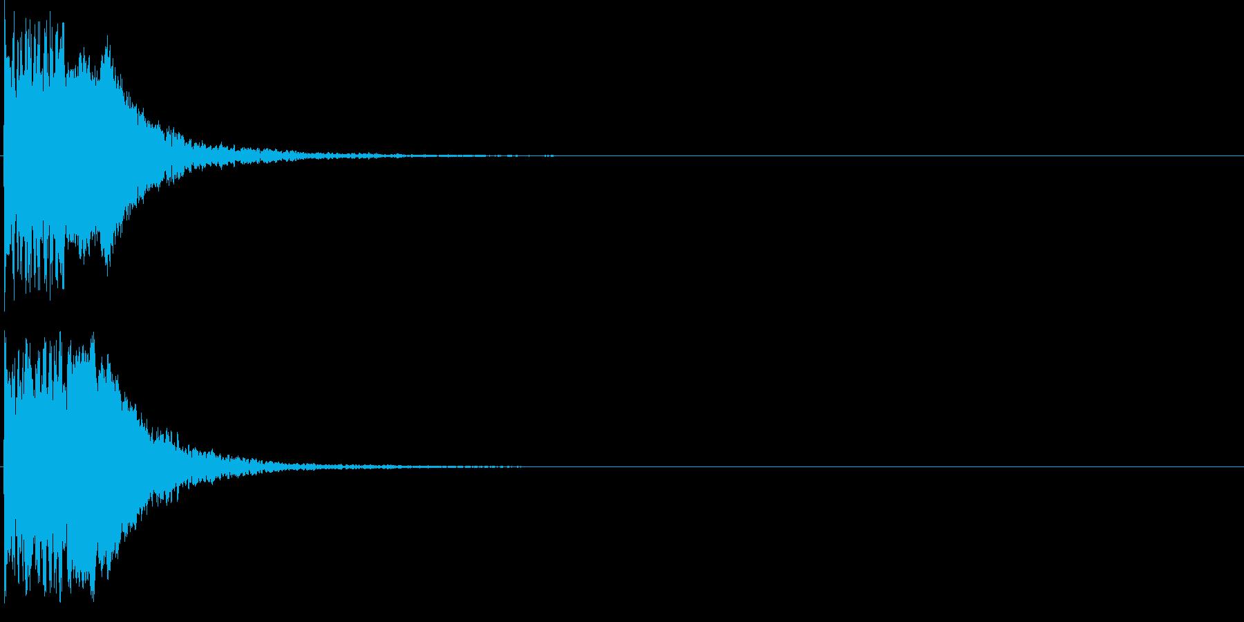 ピュイン(パワーアップ・エネルギー補充)の再生済みの波形