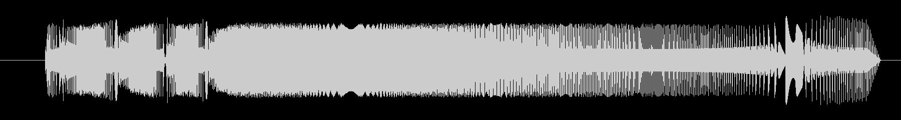 FX 合成信号04の未再生の波形