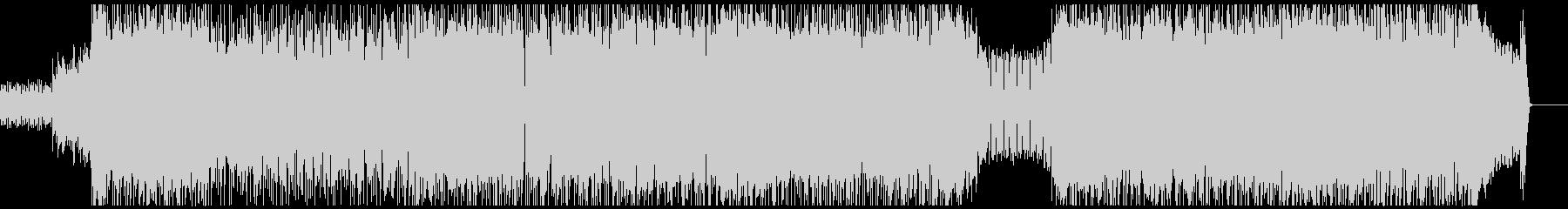 スピード感のあるポップパンク/メロコアの未再生の波形