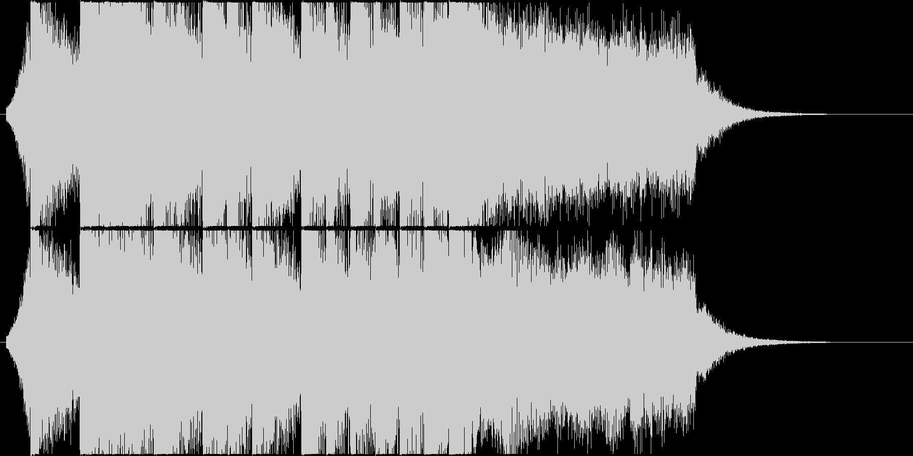 Refreshing EDM jingle / CM's unreproduced waveform