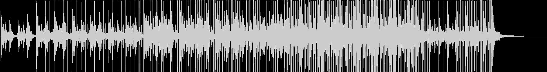 癒しの音の未再生の波形