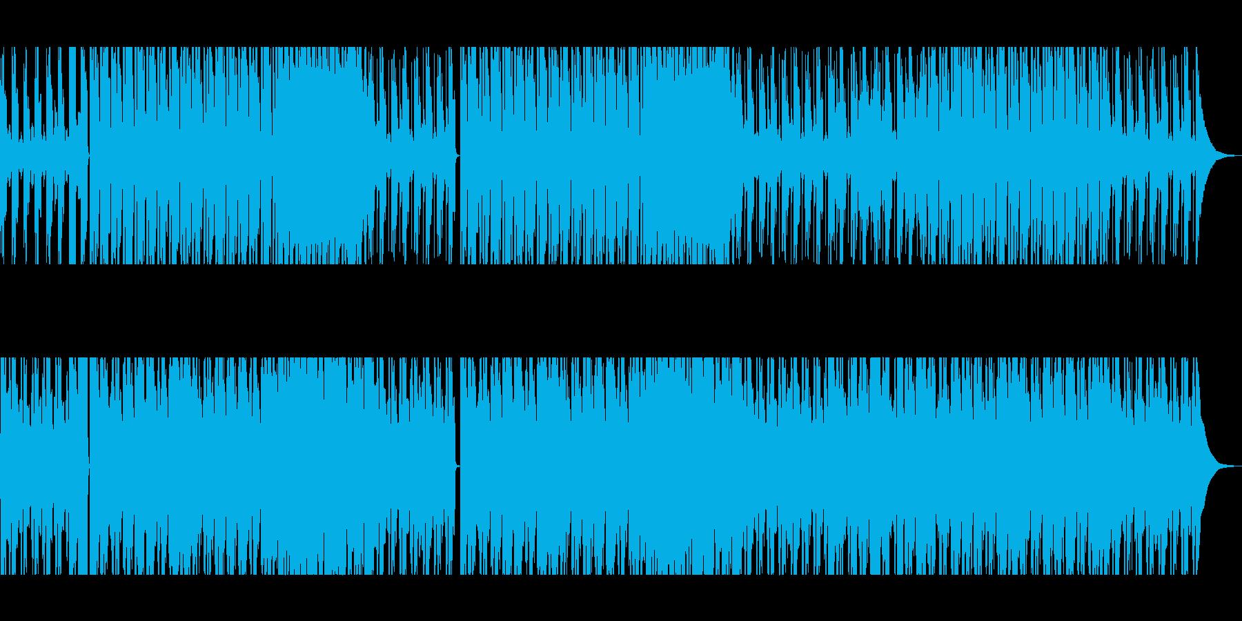 雰囲気のあるギターソロの再生済みの波形