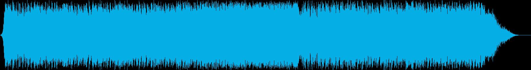 ダークファンタジーオーケストラ戦闘曲53の再生済みの波形