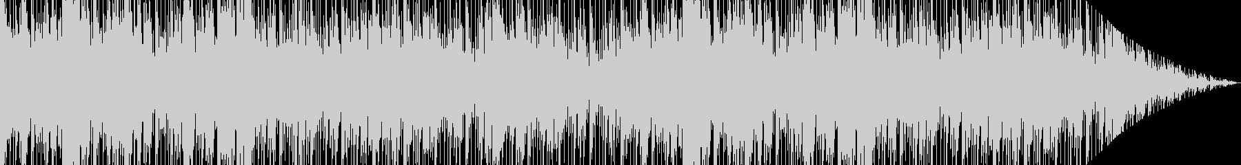 民族楽器を使用したエスニック風な曲の未再生の波形