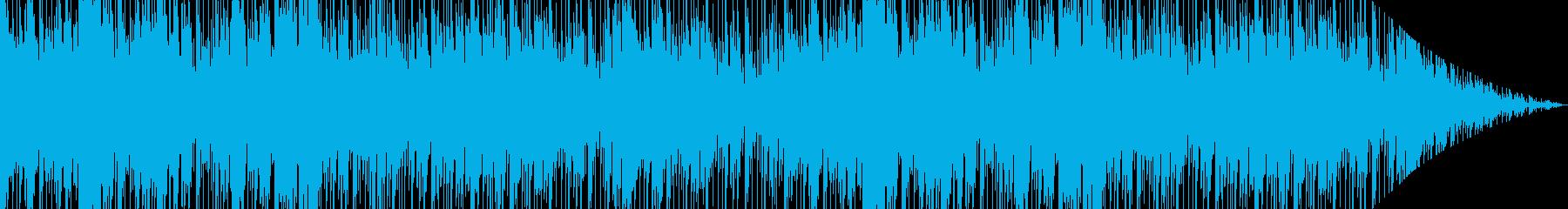 民族楽器を使用したエスニック風な曲の再生済みの波形
