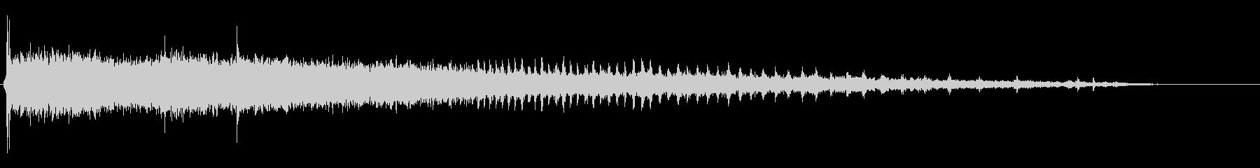機械稼働音 7の未再生の波形