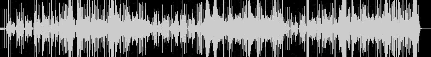 可愛いピアノが跳ねる 日常系BGMの未再生の波形