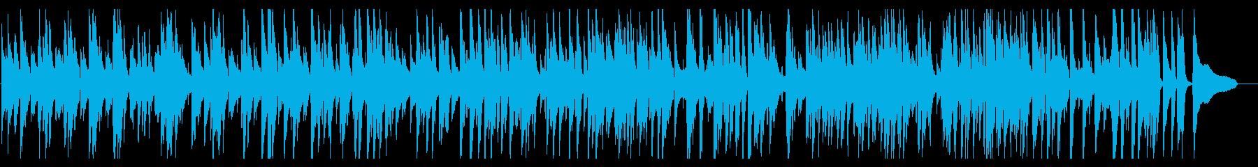 大人の楽しげなjazz風ピアノの再生済みの波形