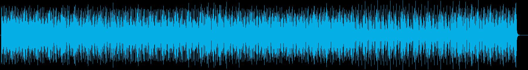 アーバンなちょっと怪しげな和風サウンドの再生済みの波形