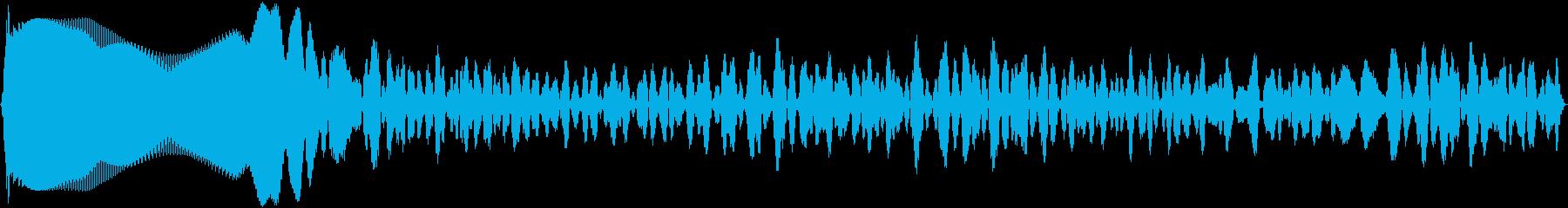 シンセシスディストーション:低周波...の再生済みの波形