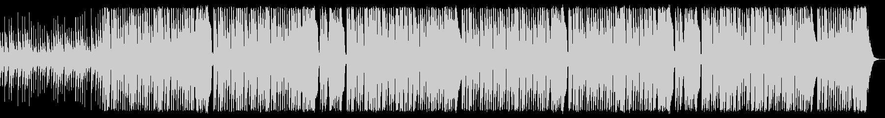 コミカルで落ち着きないワルツ調トイピアノの未再生の波形