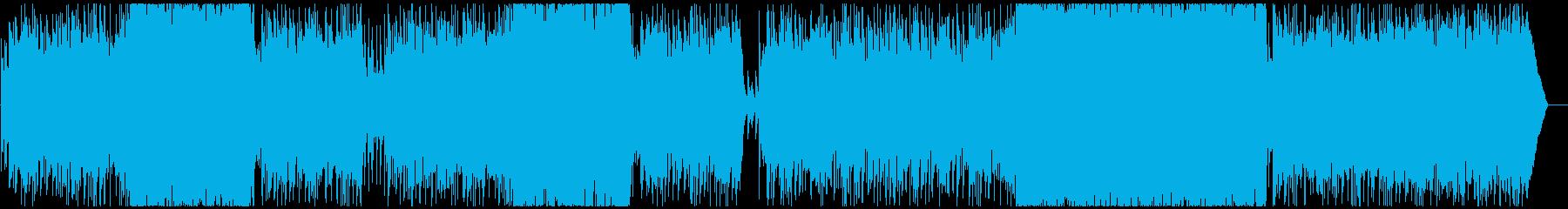 元気でパワフルなオープニングロックですの再生済みの波形