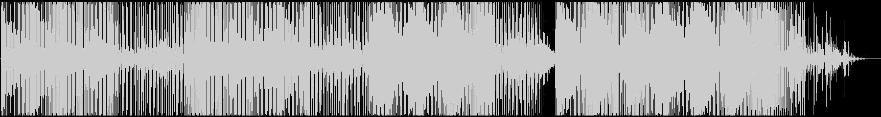 じっとり渋いテックハウス/ダブテクノの未再生の波形