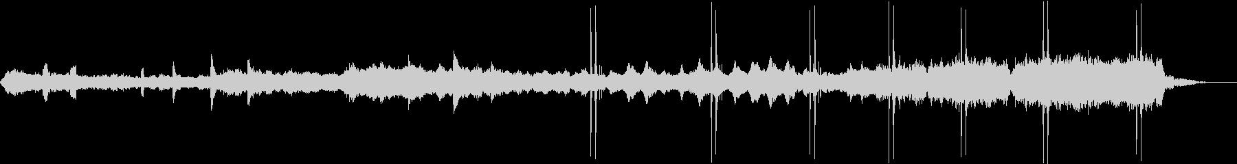 映画ブレードランナー風ダークなBGMの未再生の波形