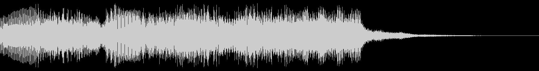 8bit ファミコン風 クリア、場面転換の未再生の波形
