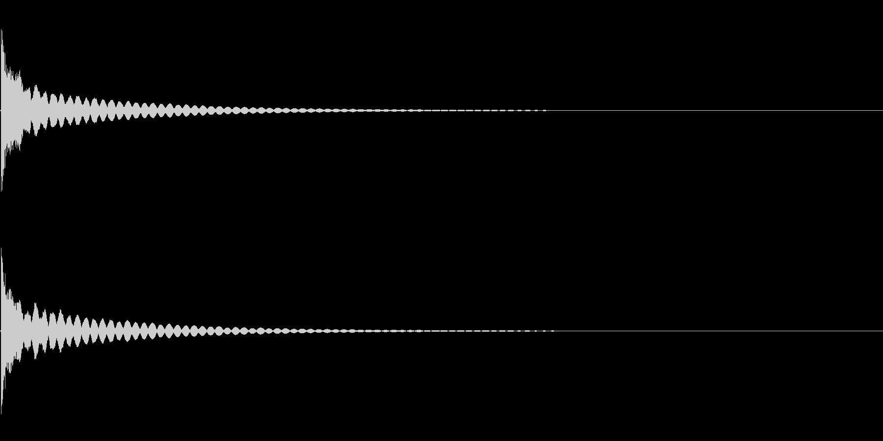 [生録音]ティンシャ、チベタンベル02の未再生の波形