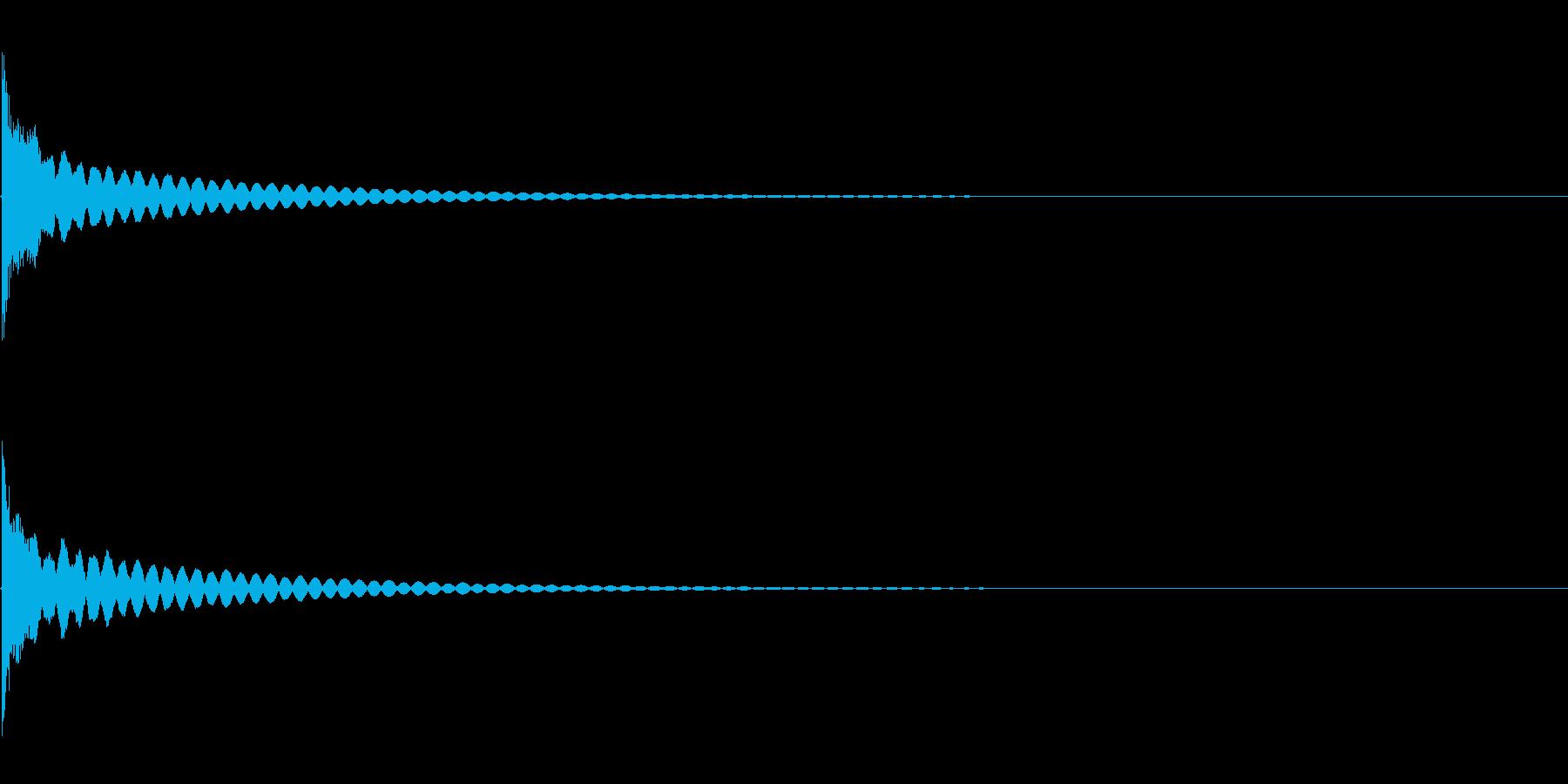 [生録音]ティンシャ、チベタンベル02の再生済みの波形