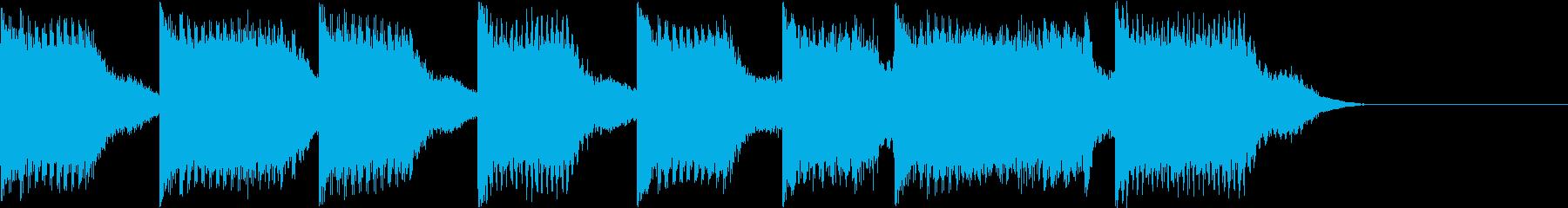 AI メカ/ロボ/マシン動作音 11の再生済みの波形