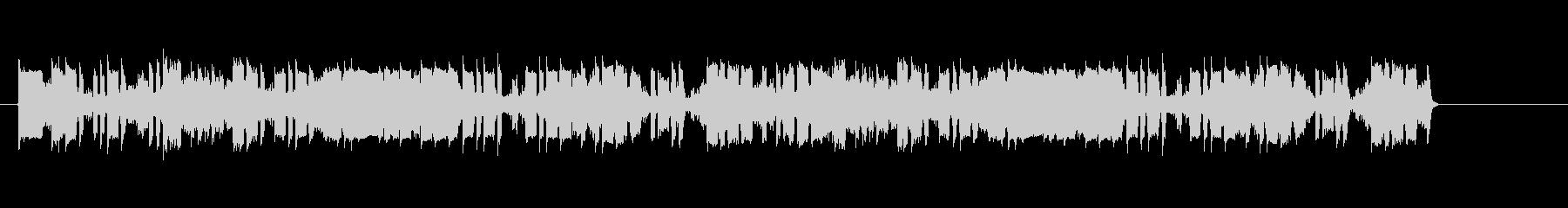 ジリリピボボ・・(騒がしい通信音)の未再生の波形