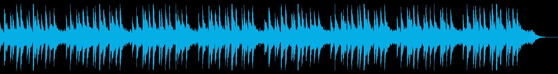 蛍の光 ピアノ  の再生済みの波形