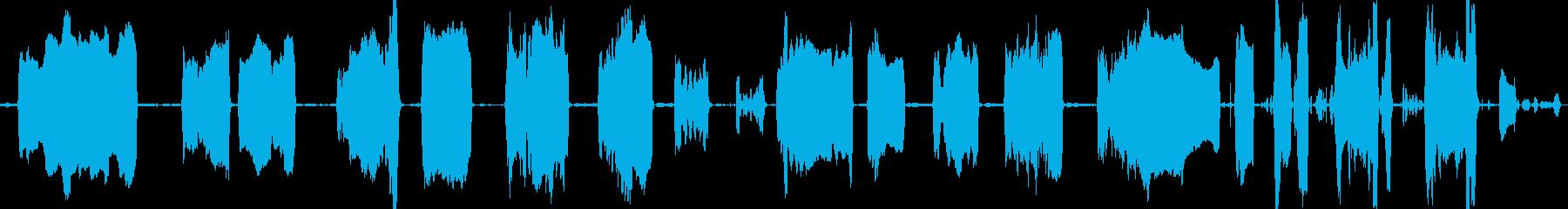 ラクダのイライラ便秘人間の話の再生済みの波形