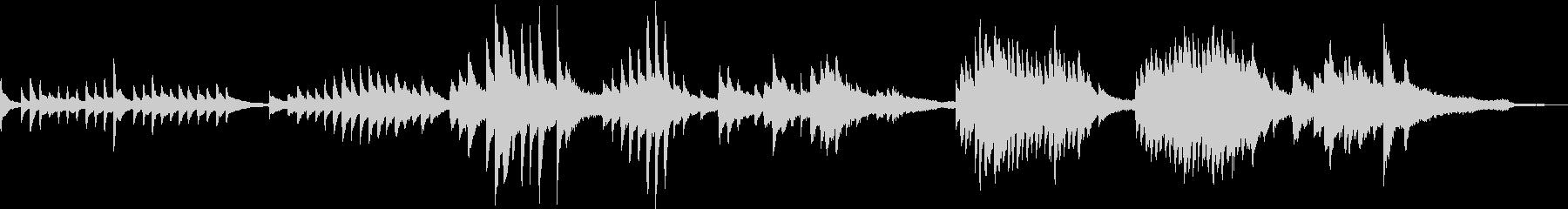 凛とした和風曲1(A)-タックピアノの未再生の波形