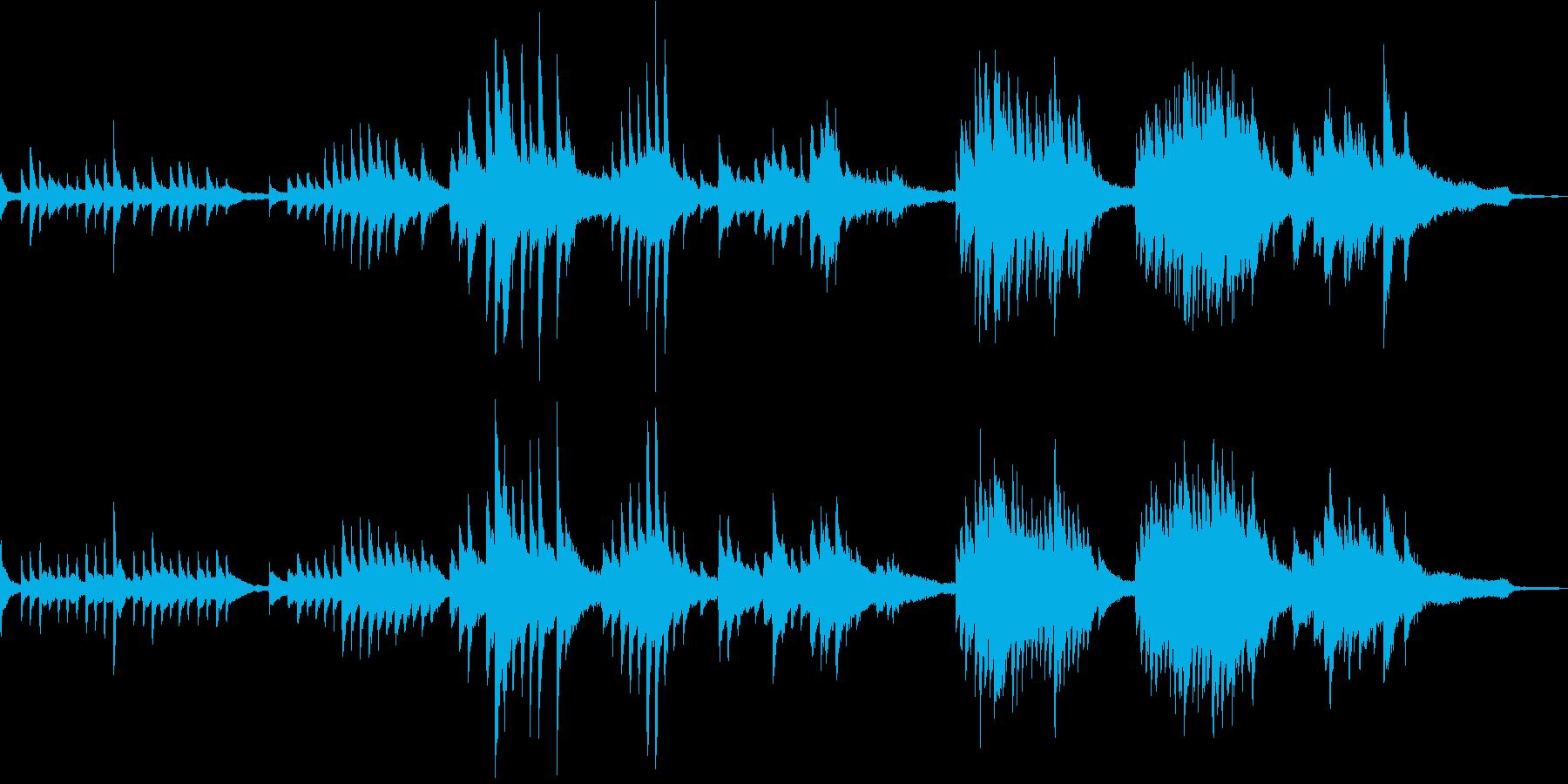 凛とした和風曲1(A)-タックピアノの再生済みの波形
