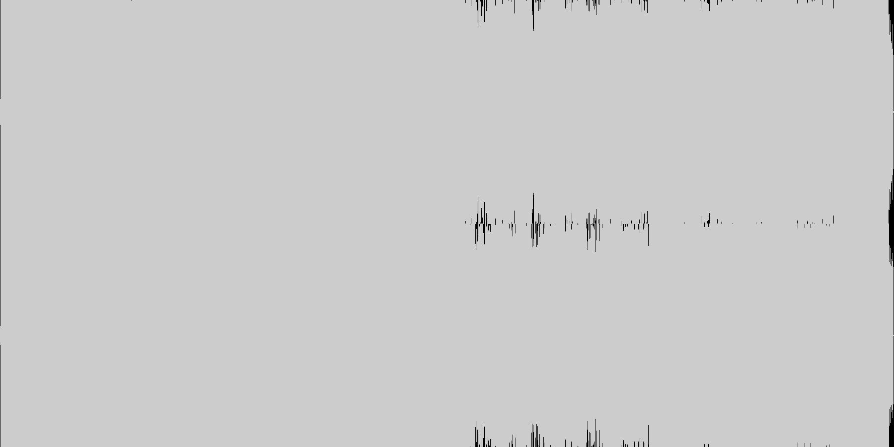 ロック_疾走感の未再生の波形