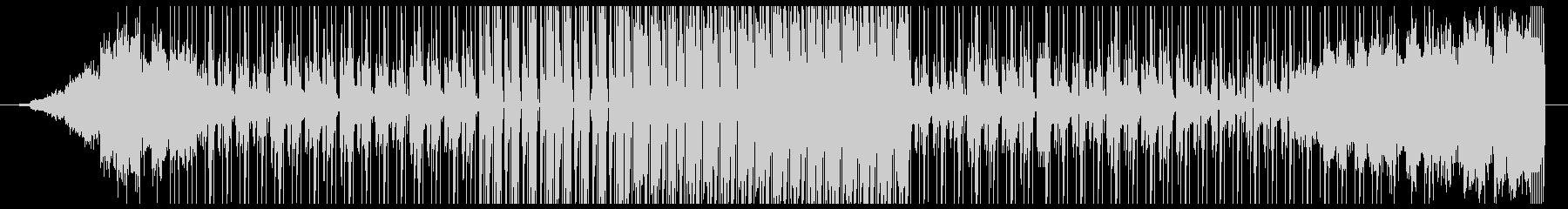 R&BのトラックをイメージしたBGMの未再生の波形
