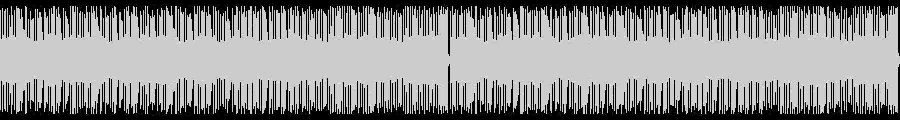 8bit風音源のループ楽曲の未再生の波形