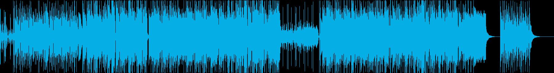 和風でコミカルなエレクトロサウンドの再生済みの波形
