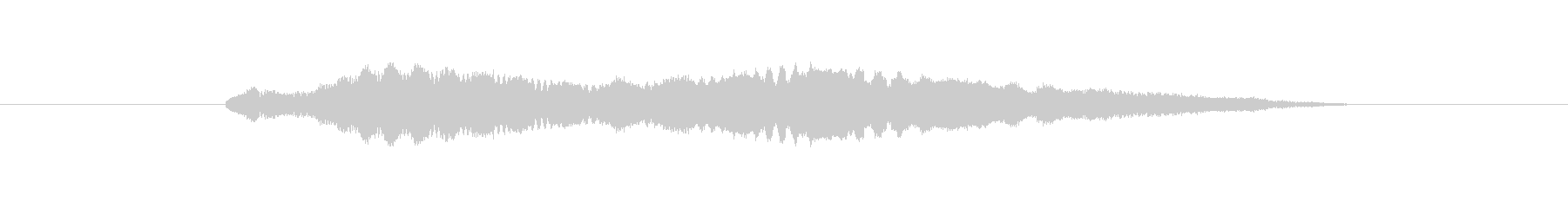 特撮 ハイテクビープ音を確認05の未再生の波形